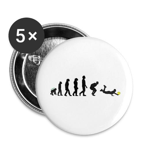Evolution Defense - Confezione da 5 spille grandi (56 mm)