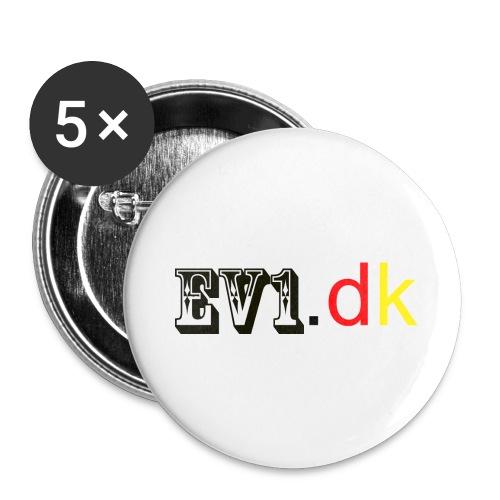 ev1 - Buttons/Badges stor, 56 mm (5-pack)
