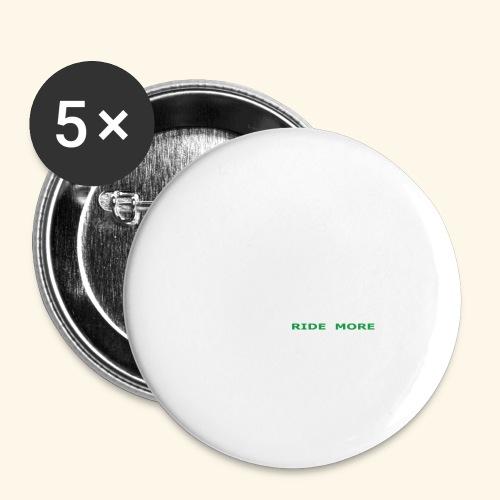 WLRM Schriftzug white png - Buttons groß 56 mm (5er Pack)