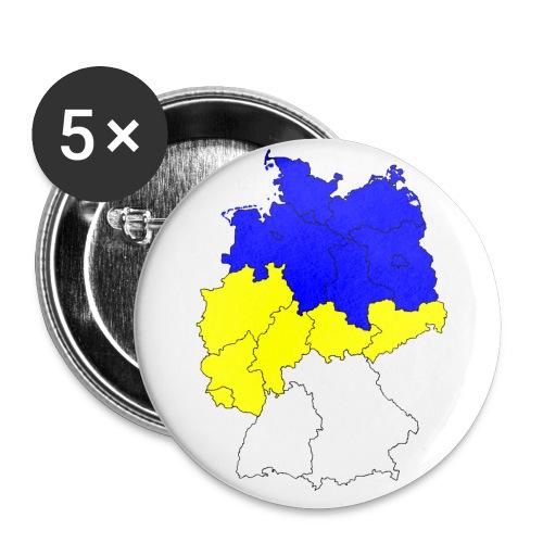 fcc deutschland2 - Buttons groß 56 mm (5er Pack)