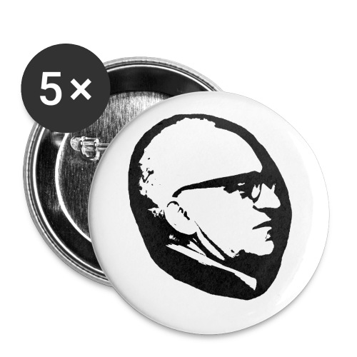 Rothbard profile - Stora knappar 56 mm (5-pack)
