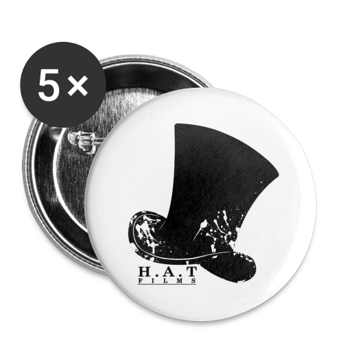 Hat Films Logo - Buttons large 2.2''/56 mm (5-pack)