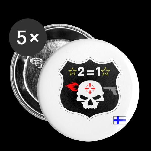 Paita logo selkä VÄRILLINEN png - Rintamerkit isot 56 mm (5kpl pakkauksessa)