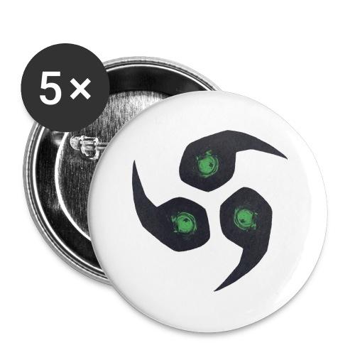 Raijin Beanie - Buttons groß 56 mm (5er Pack)