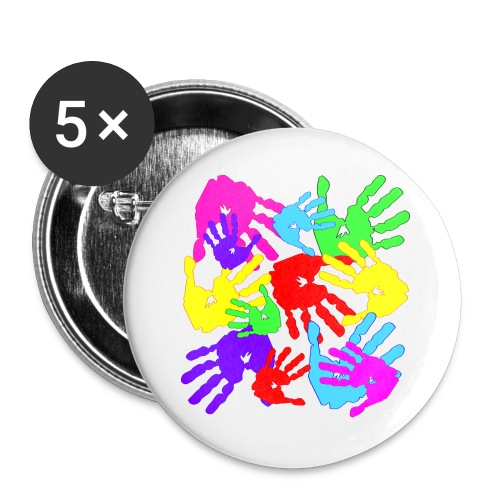 pastrocchio2 - Confezione da 5 spille grandi (56 mm)