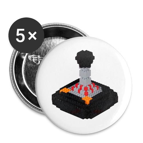 8 piece trip Tac 2 Joystick - Buttons large 2.2''/56 mm(5-pack)