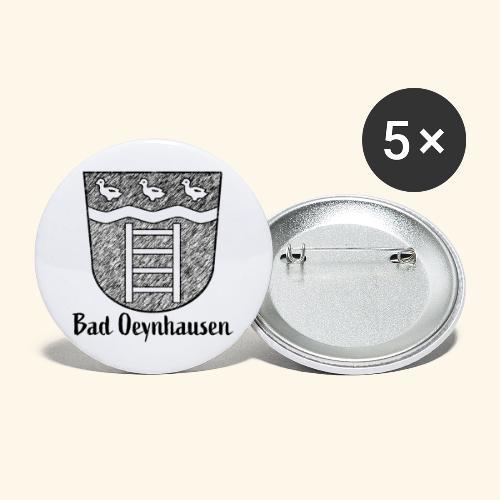 B.O. and the ducks - Buttons groß 56 mm (5er Pack)