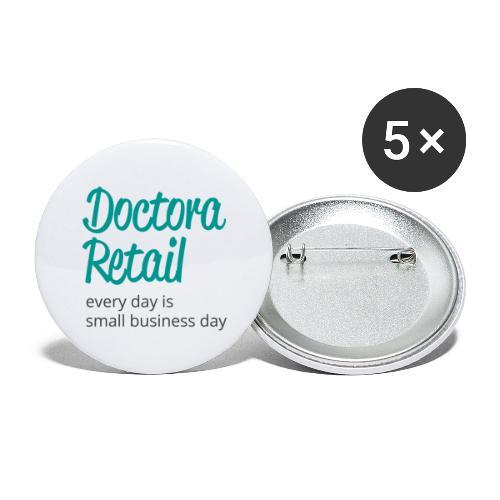 Doctora Retail Every Day - Paquete de 5 chapas grandes (56 mm)