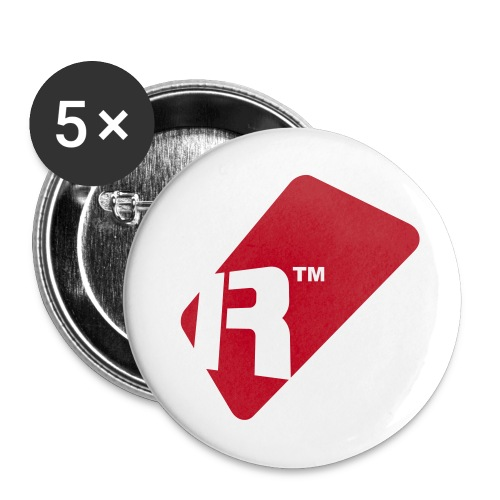 Renoise Tag - Buttons large 2.2''/56 mm (5-pack)