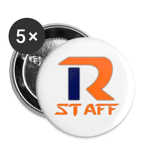Rstaff - Lot de 5 grands badges (56 mm)