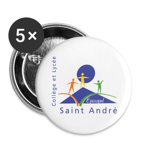 L'Original - Lot de 5 grands badges (56 mm)