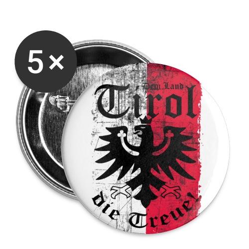 Tirol - Buttons groß 56 mm (5er Pack)