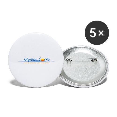 Mythos Corfu Griechenland - Buttons groß 56 mm (5er Pack)