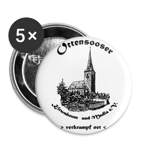 logokwbo - Buttons groß 56 mm (5er Pack)