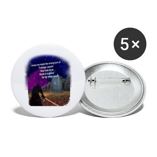 Bad Parking - Buttons large 2.2''/56 mm(5-pack)