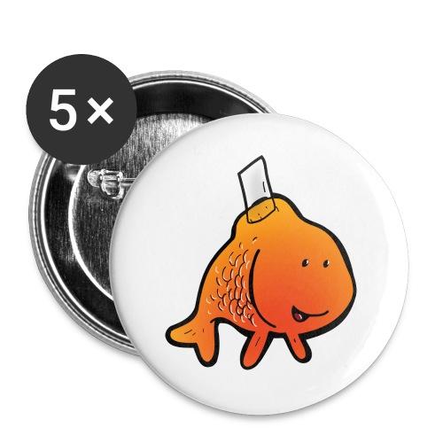 JOKE - Lot de 5 grands badges (56 mm)