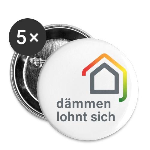 6 - Buttons groß 56 mm (5er Pack)