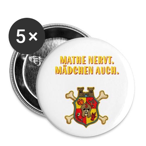 Wappen - Buttons groß 56 mm (5er Pack)