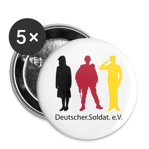 Deutscher.Soldat. e.V._06 - Buttons groß 56 mm (5er Pack)