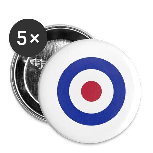 Mod Target - Buttons groß 56 mm (5er Pack)