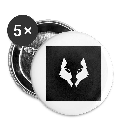 La Meute Big Logo - Lot de 5 grands badges (56 mm)
