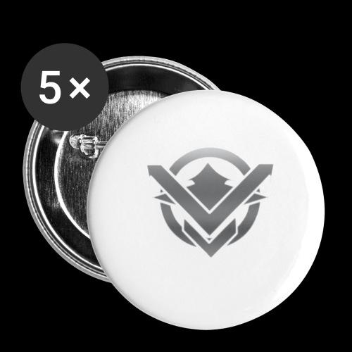 SVN Arts logo - Buttons groot 56 mm (5-pack)