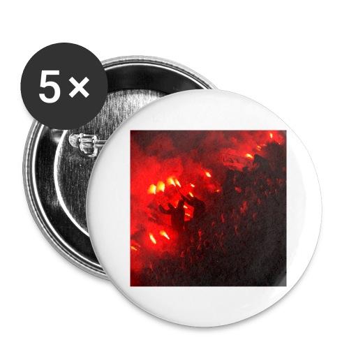 #Tifo - Stora knappar 56 mm (5-pack)