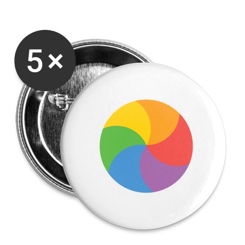 BeachBal - Buttons groot 56 mm (5-pack)