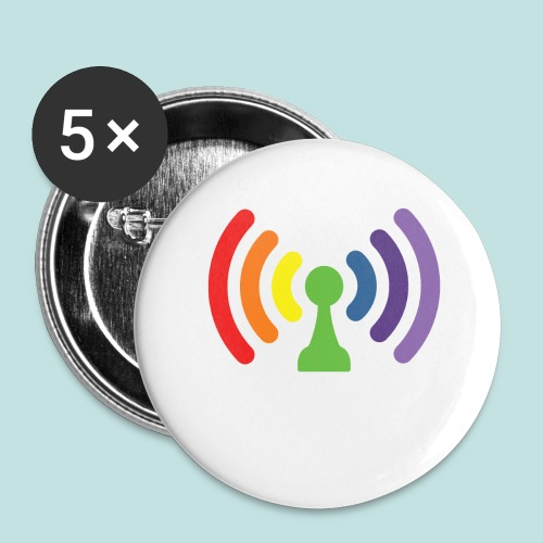 Bi-Fi - Buttons large 2.2''/56 mm (5-pack)