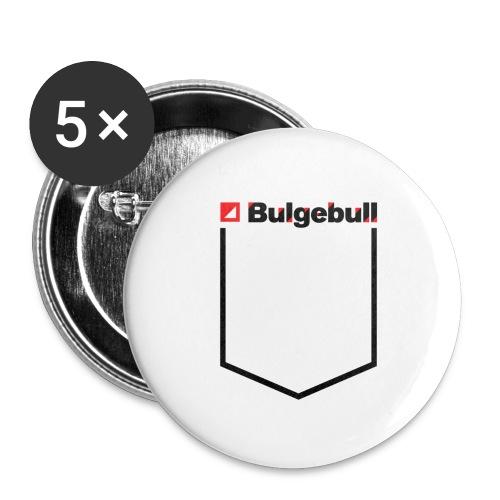 BULGEBULL-POCKET2 - Paquete de 5 chapas grandes (56 mm)