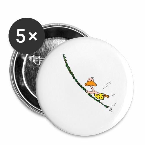 cartoon_Kleimdesign_tarze - Buttons groß 56 mm (5er Pack)