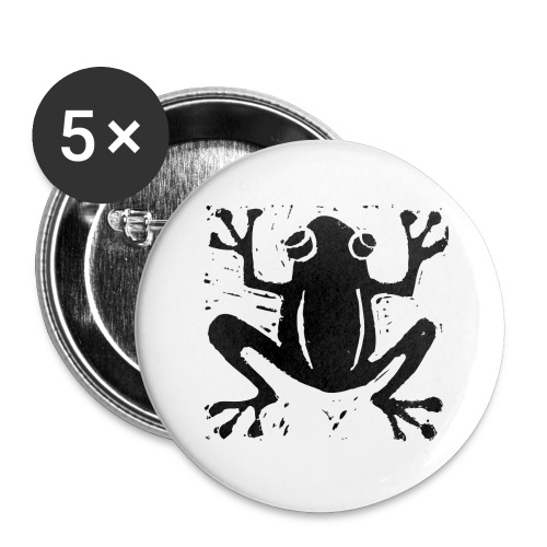 Crafty Wotnots Tree Frog - Buttons large 2.2''/56 mm(5-pack)