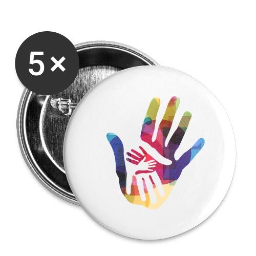 logo_storien - Stor pin 56 mm (5-er pakke)