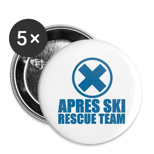 apres-ski rescue team - Buttons large 2.2''/56 mm(5-pack)