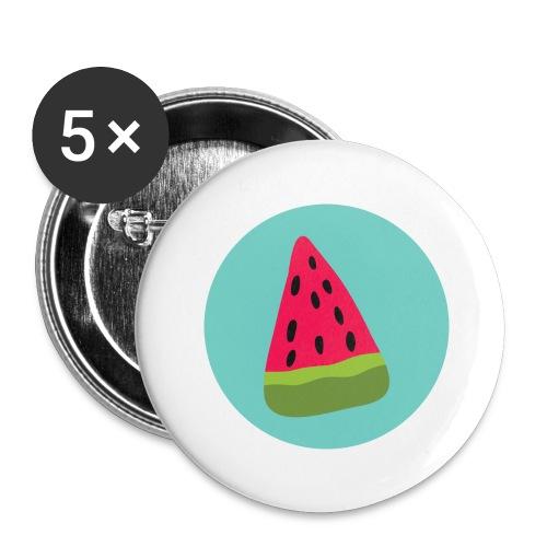 Watermelon - Confezione da 5 spille grandi (56 mm)