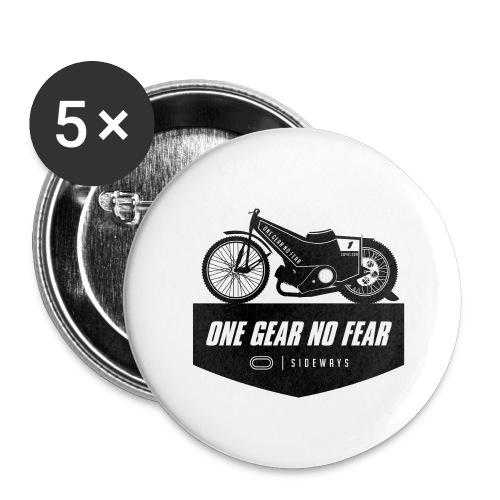 Speedway Bahnsport - Buttons groß 56 mm (5er Pack)