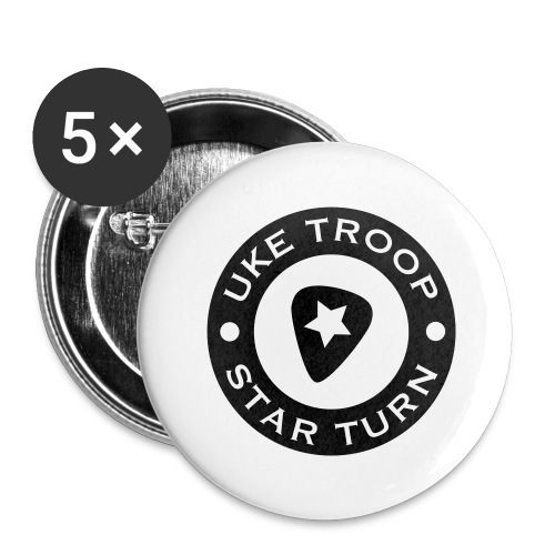 uke troop small - Buttons large 2.2''/56 mm(5-pack)