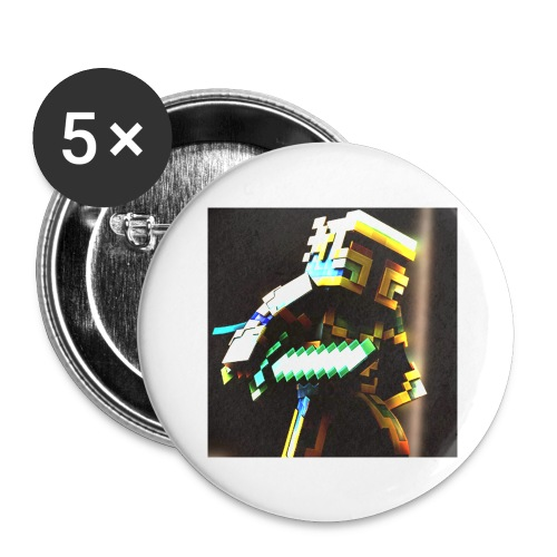 Crazyknight - Buttons large 2.2''/56 mm(5-pack)
