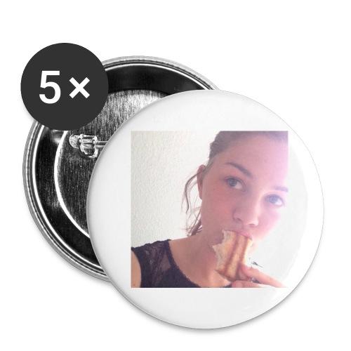 Det' toastBeks - Buttons/Badges stor, 56 mm (5-pack)