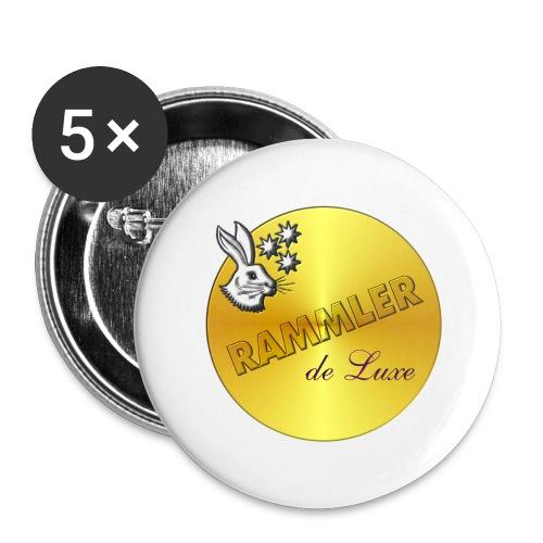 rammler - Buttons groß 56 mm (5er Pack)