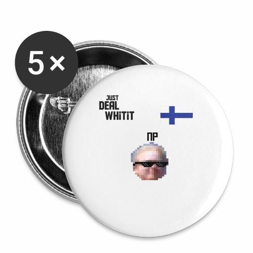 Dealwhitit NP Merch - Rintamerkit isot 56 mm (5kpl pakkauksessa)