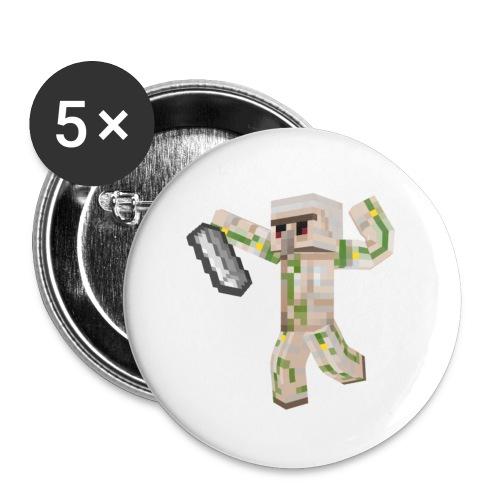 Starka GolemGamingYT - Stora knappar 56 mm (5-pack)