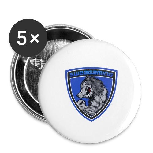 SweaG - Stora knappar 56 mm (5-pack)