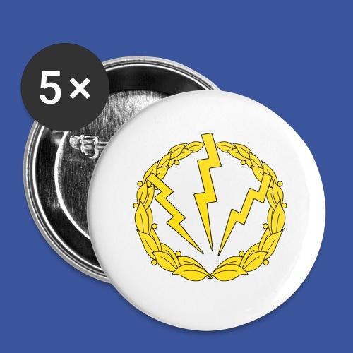 RLC Logo - Stora knappar 56 mm (5-pack)