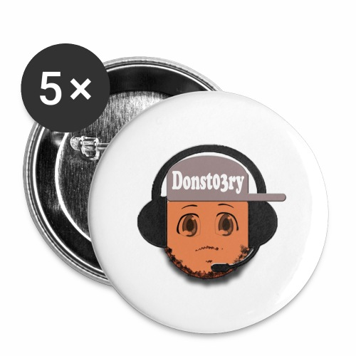 Dons logo - Buttons large 2.2''/56 mm(5-pack)