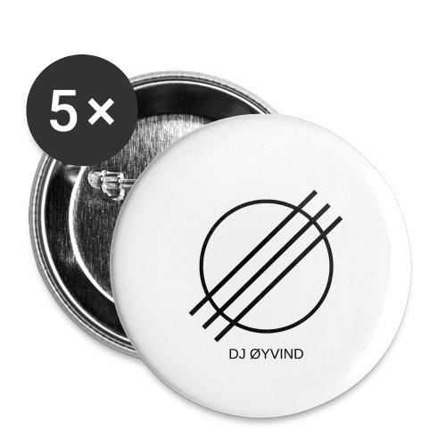 DJ Øyvind Logo (Offisiell) - Stor pin 56 mm (5-er pakke)