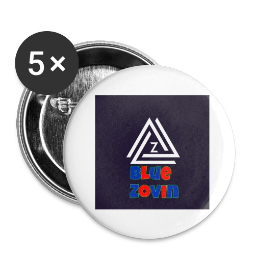 BlueZovinshirt - Buttons large 2.2''/56 mm (5-pack)