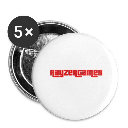 RayZerGamer logo - Buttons large 2.2''/56 mm (5-pack)