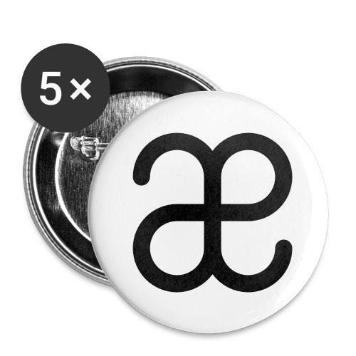 Artesplorando logo - Confezione da 5 spille grandi (56 mm)