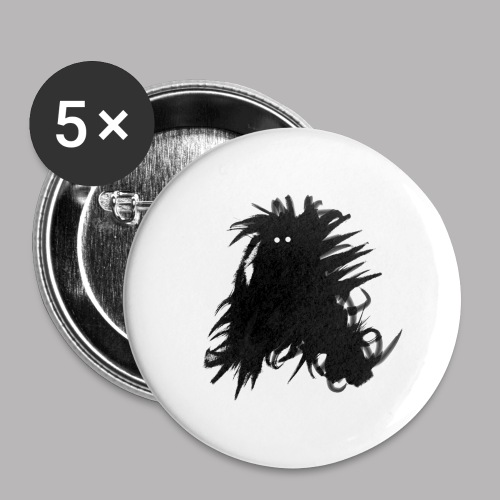 Alan at Attention - Buttons large 2.2''/56 mm (5-pack)